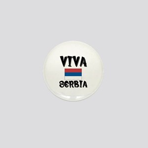 Viva Serbia Mini Button